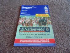 Newcastle Town v Stoke City, 2002/03 [Fr]